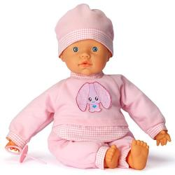 Falca Toys Baba nyuszis ruhában hangeffektekkel - 38 cm
