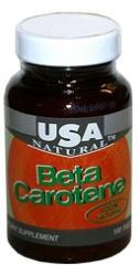 USA Natural Beta Carotene - 100db