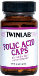Twinlab Folic Acid - 100db