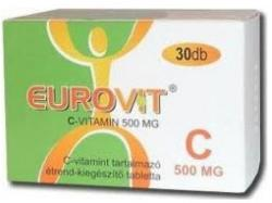 Eurovit C-vitamin 500mg - 30db