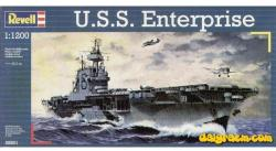 Revell USS Enterprise 1/1200 5801