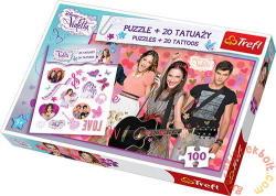 Trefl Violetta és barátai 100 db-os (90289)