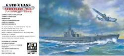 AFV-Club Gato Class Submarine 1943 1/350 20AFVSE73511