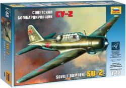 Zvezda SU-2 Soviet Light Bomber 1/48 4805