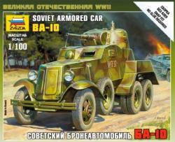 Zvezda BA-10 Soviet Armored Car 1/35 3617