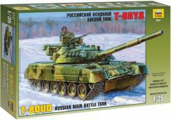 Zvezda T-80UD Russian Tank 1/35 3591