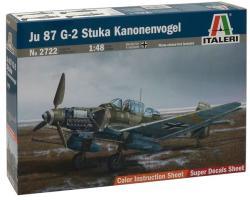 Italeri Junkers Ju-87G-2 Stuka Kanonenvogel 1/48 2722
