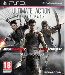 Square Enix Ultimate Action Triple Pack: Just Cause 2 + Sleeping Dogs + Tomb Raider (PS3)