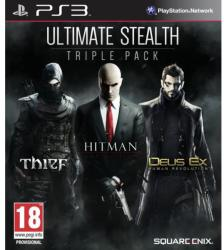 Square Enix Ultimate Stealth Triple Pack: Thief + Hitman Absolution + Deus Ex Human Revolution (PS3)