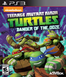 Activision Teenage Mutant Ninja Turtles Danger of the Ooze (PS3)