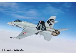 Revell F/A-18C Hornet Swiss A.F. 1/48 4874