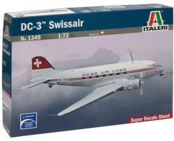 Italeri DC-3 Swissair 1/72 1349