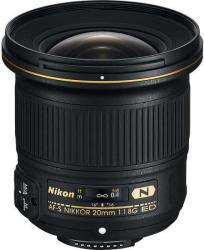 Nikon AF-S 20mm f/1.8G ED (JAA138DA)