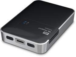 Western Digital My Passport Wireless 1TB USB 3.0 WDBK8Z0010BBK-EESN