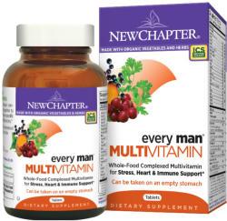 New Chapter Every Man Multivitamin tabletta - 120 db