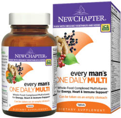 New Chapter Every Man's One Daily Multi tabletta - 72 db