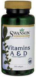 Swanson A & D Vitamin kapszula - 250 db