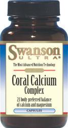 Swanson Coral Calcium Complex kapszula - 90 db