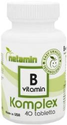 Netamin B-vitamin Komplex (40db)
