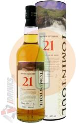 TOMINTOUL 21 Years Whiskey 0,7L 40%