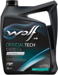 Wolf Officialtech C4 5W30 5L
