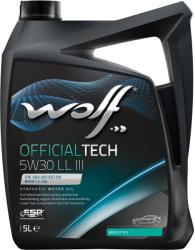 Wolf Officialtech LL III 5W30 5L