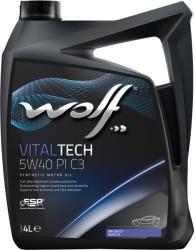 Wolf Vitaltech PI C3 5W40 4L