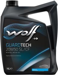 Wolf Guardtech SL/CF 20W-50 4L