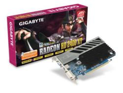 GIGABYTE Radeon HD 2400XT 256MB GDDR3 64bit PCIe (RX24T256HP)