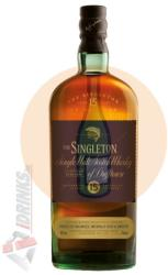 SINGLETON 15 Years Whiskey 0,7L 40%