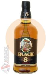 NIKKA WHISKY Black 8 Years Whiskey 0,7L 40%