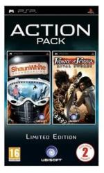 Ubisoft Action Pack: Shaun White Snowboarding + Prince of Persia Rival Swords (PSP)
