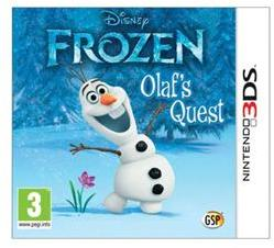 Avanquest Software Disney Frozen Olaf's Quest (3DS)