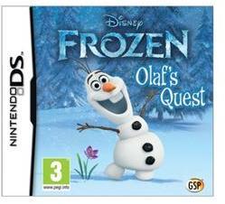 Avanquest Software Disney Frozen Olaf's Quest (Nintendo DS)