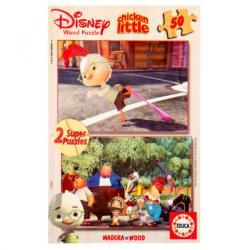 Educa Disney Csodacsibe 2x50 db-os fa puzzle
