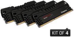 Kingston 32GB (4x8GB) DDR3 2400MHz HX324C11T3K4/32