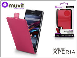 muvit Slim Flip Xperia Z1 Compact