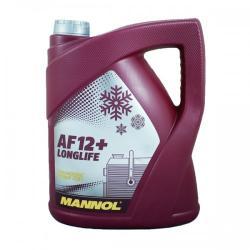 MANNOL AF12+ Longlife Antifreeze piros (-75°C, 5l)