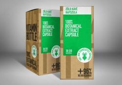 Vitamin Bottle Zöld kávé kapszula - 30db