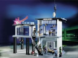 Playmobil Statie de politie cu sistem de alarma (PM5182)