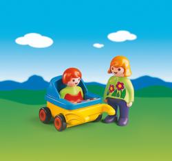 Playmobil 1.2 3 Mama si copilul (PM6749)