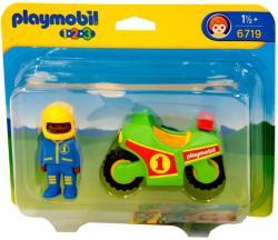 Playmobil 1.2. 3 Motocicleta (PM6719)
