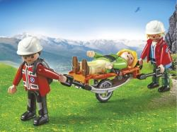 Playmobil Salvatori montani cu targa (PM5430)