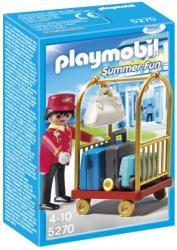 Playmobil Portar cu carucior de bagaje (PM5270)