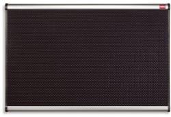 Nobo Prestige tűzhető habtábla, alumínium/műanyag keret, 90x120 cm, fekete (VQF1290)