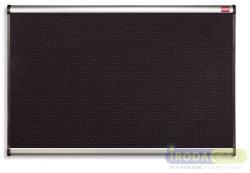 Nobo Prestige tűzhető habtábla, alumínium/műanyag keret, 60x90 cm, fekete (VQF9060)