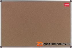 Nobo Elipse parafatábla, alumínium keret, 90x120 cm (VN0920)
