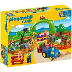 Playmobil 1.2. 3 Gradina zoo completa (PM6754)