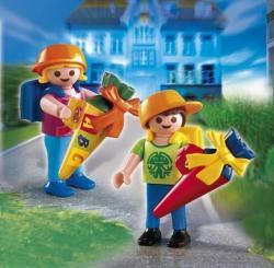 Playmobil Prima zi de scoala a copiilor (PM4686)