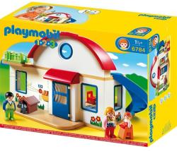Playmobil 1.2 3 Casa din suburbie (PM6784)